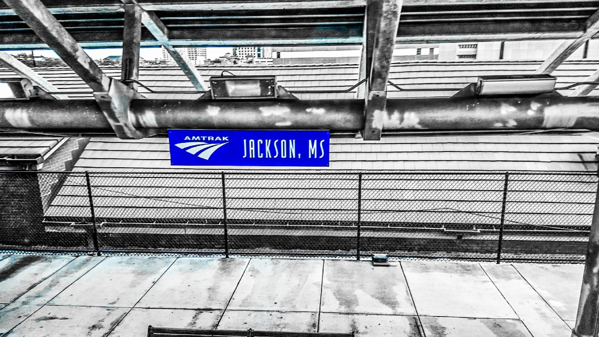 Amtrak station Jackson Mississippi