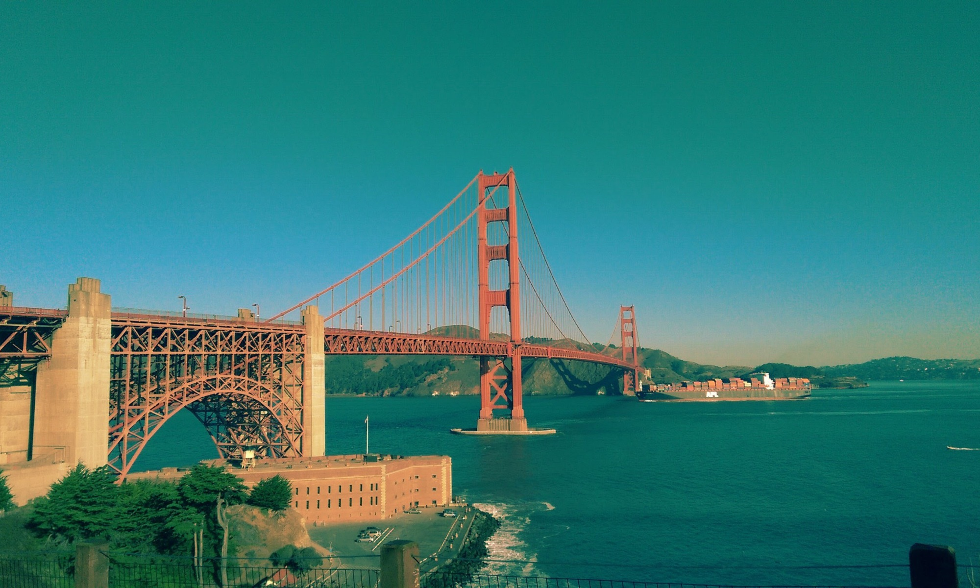 Us landmarks San Francisco Golden Gate Bridge tourist attractions in usa