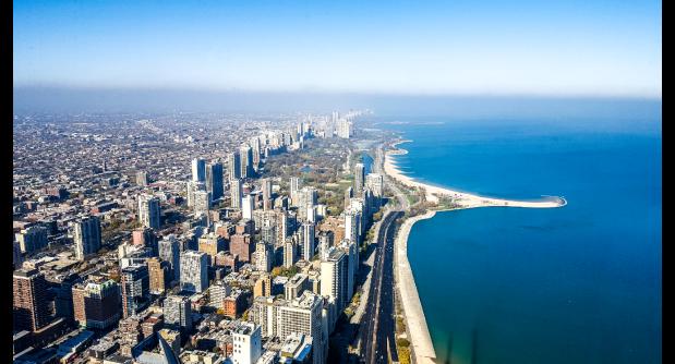 Chicago 360 observation deck John Hancock building