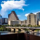 Downtown Austin and South Congress bridge