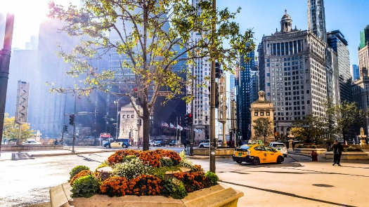 Magnificent mile, Michigan avenue, Chicago