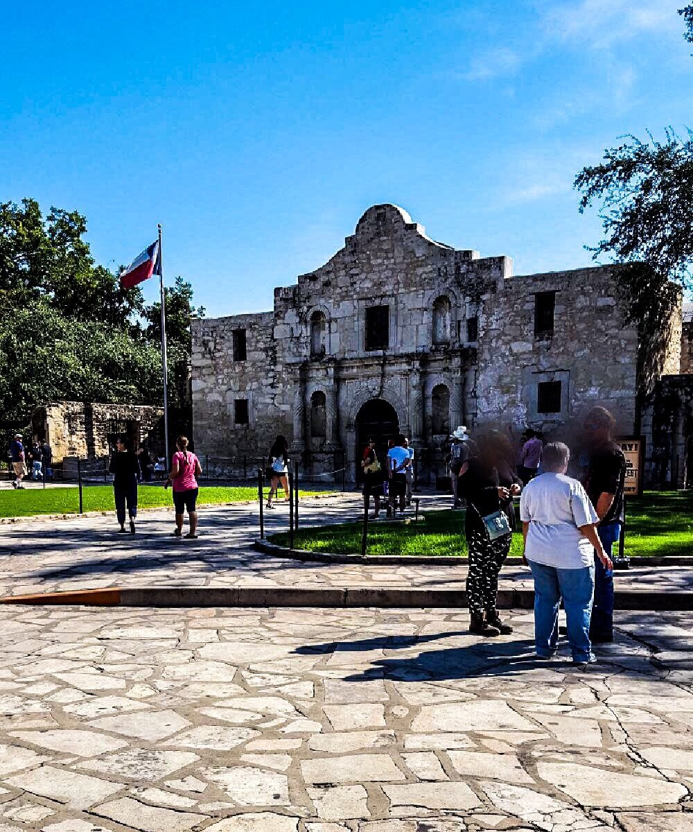 The Alamo mission San Antonio Texas