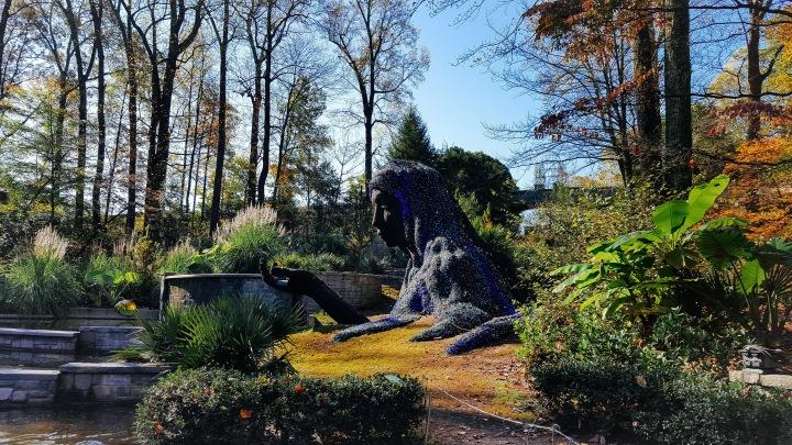 An Impressive Woman sculpture Atlanta Botanical Garden