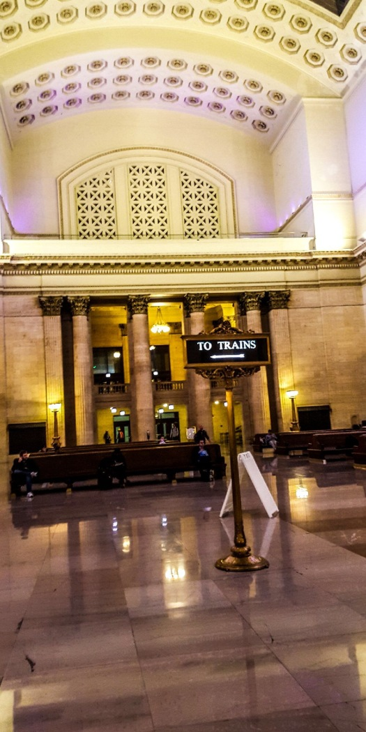 Inside Union Station Chicago